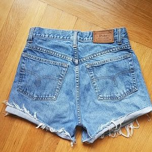 Ralph Lauren vintage USA♥cut off shorts
